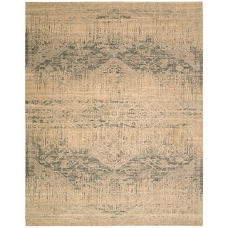 Nourison Silk Elements Beige Area Rug (12' x 15')