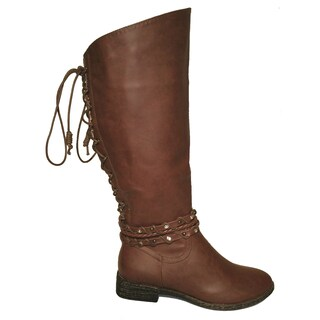 Lily Lace Brown Riding Boot (China) https://ak1.ostkcdn.com/images/products/12194619/P19042900.jpg?_ostk_perf_=percv&impolicy=medium
