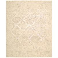 Nourison Silk Elements Natural Area Rug (12' x 15') - 12' x 15'