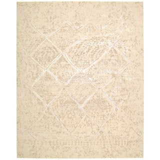 Nourison Silk Elements Natural Area Rug - 12' x 15'
