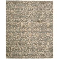Nourison Silk Elements Taupe Area Rug (12' x 15')