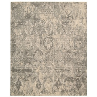 Nourison Silk Elements Mushroom Area Rug (12' x 15')