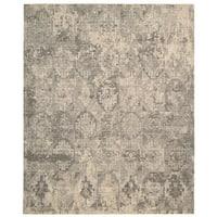 Nourison Silk Elements Mushroom Area Rug (12' x 15') - 12' x 15'