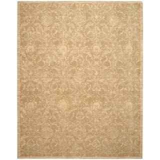Nourison Silk Elements Sand Area Rug (12' x 15')