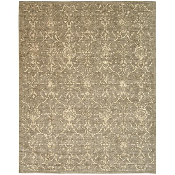 Nourison Silk Elements Moss Area Rug (12' x 15') - 12' x 15'