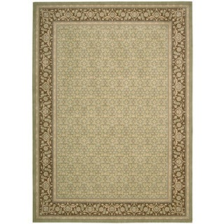 Nourison Persian Empire Green Area Rug (12' x 15')