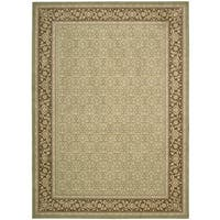 Nourison Persian Empire Green Area Rug - 12' x 15'