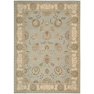 Nourison Persian Empire Aqua Area Rug (12' x 15')