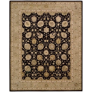 Nourison 3000 Black Area Rug (12' x 15')