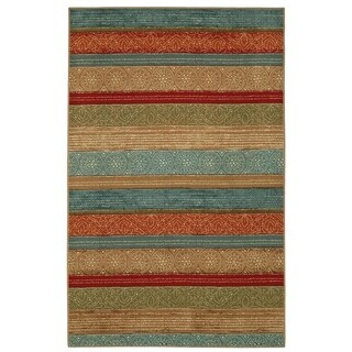 "Mohawk Home Soho Samsun Batik Stripe Multi - 7'6"" x 10'"
