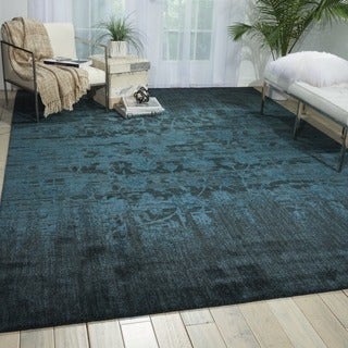 Nourison Nightfall Hunter Green Area Rug (12' x 15')