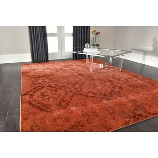 Nourison Nightfall Flame Area Rug (12' x 15')