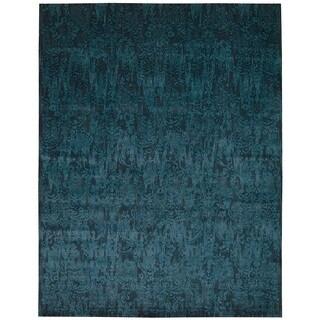 Nourison Nightfall Peacock Area Rug (12' x 15')