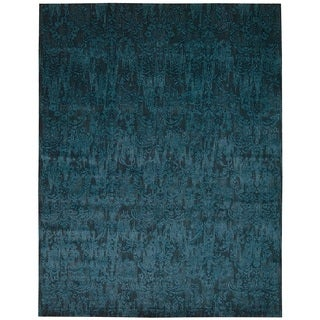 Nourison Nightfall Peacock Area Rug (12' x 15')