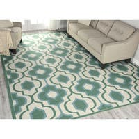 Nourison Home and Garden Jade Area Rug - 10' x 13'