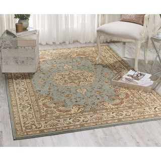 Nourison Ararat Light Blue Rug (9'3 x 12'9)