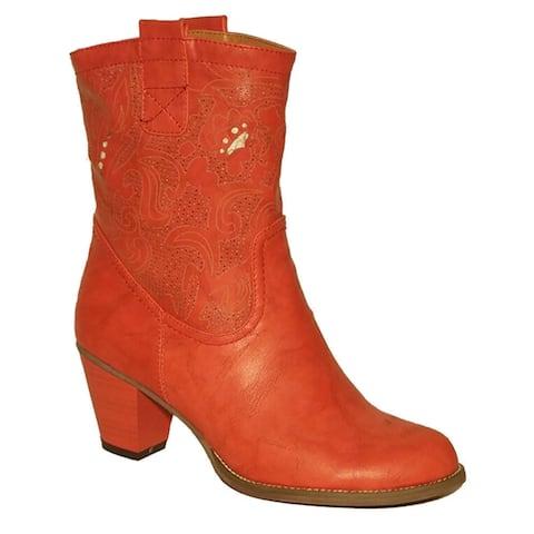 Handmade Kate Salmon Short Boot Size - S