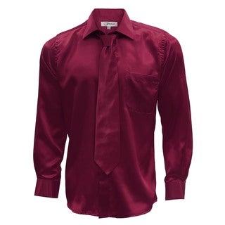 Mens Satin Dress Shirt, Necktie, & Hanky Set - XS to Big & Tall https://ak1.ostkcdn.com/images/products/12194709/P19043034.jpg?_ostk_perf_=percv&impolicy=medium