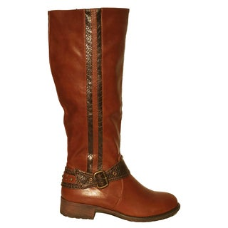 Handmade Koko Ryder Coffee Boot (China)