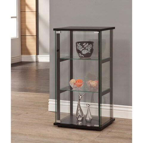 Oliver & James Lacy Glass Curio Cabinet