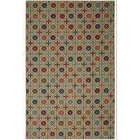 "Mohawk Home Soho Nadine Celine Tile Multicolor Area Rug (7'6"" x 10') - 7'6"" x 10'"