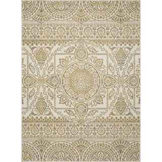 Machine-made Contempra Collection Sukha Polypropylene Rug (2'7X4'1) - 2'7 x 4'1