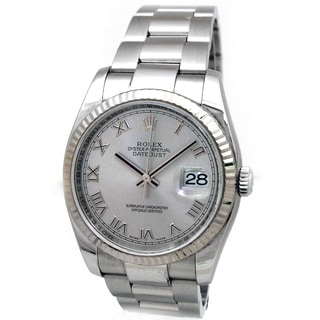 Rolex Pre-owned Datejust Stainless Steel 36-millimeter Watch