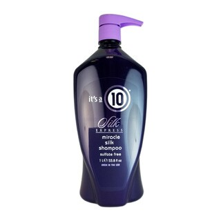 It's a 10 Silk Express 33.8-ounce Miracle Silk Shampoo