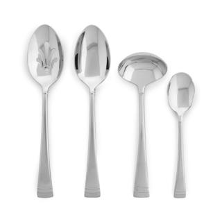 Federal Plantinum Frosted FW 4-piece Hostess Set