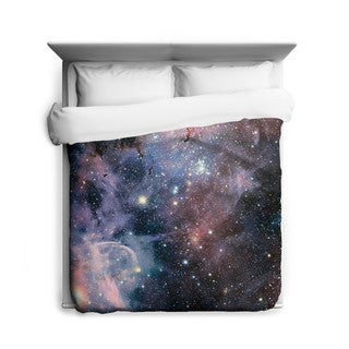 Sharp Shirter Broad View of the Carina Nebula Duvet Cover