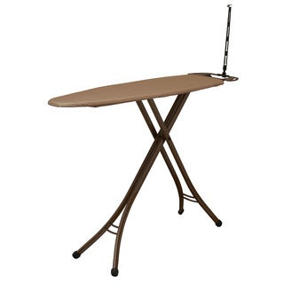 Household Essentials Copper-finish 4-Leg Deluxe Ironing Board