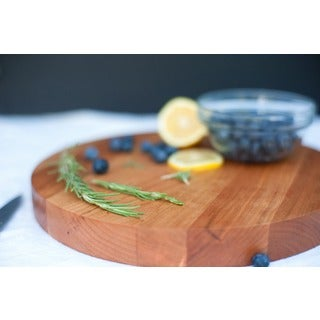 Victoria Cherry Round Chop Bloc Cutting Board