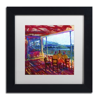 Lowell S.V. Devin 'The 60 Minute Meeting' Matted Framed Art