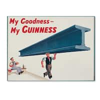 Guinness Brewery 'My Goodness My Guinness XVII' Canvas Art - Multi