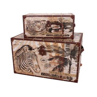 Household Essentials Animal Kingdom Storage Trunks