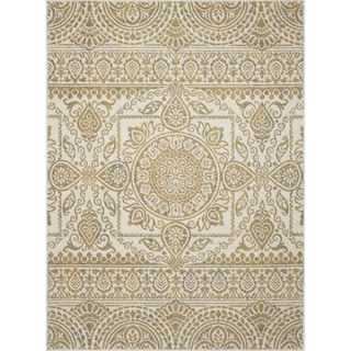 Machine-made Contempra Collection Sukha Polypropylene Rug(7'10X 10'6)