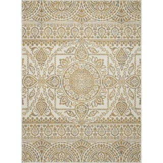 "Contempra Collection Sukha Polypropylene Rug (6'7"" x 9'6"")"