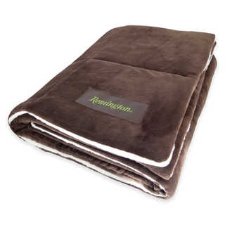 Remington Supreme Velvet Oversized Filled Chocolate Throw