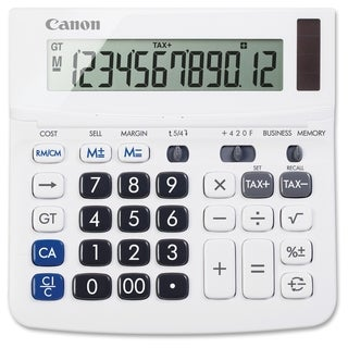 Canon TX-220TS Handheld Display Calculator - White