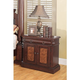 Coaster Company Grand Prado Collection Cherry Nightstand