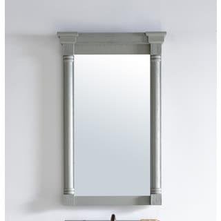 Savannah/Providence Urban Grey Wood 27-inch Mirror