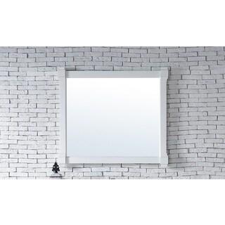 Brittany Cottage White 43-inch Mirror