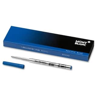 Montblanc Ballpoint Pen Refill - Pacific Blue|https://ak1.ostkcdn.com/images/products/12199198/P19047199.jpg?impolicy=medium