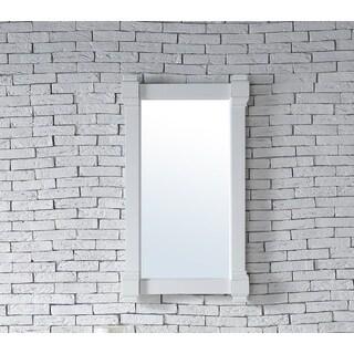 Brittany Cottage White 22-inch Mirror