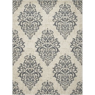Machine-made Contempra Collection Baroque Polypropylene Rug(7'10X 10'6)