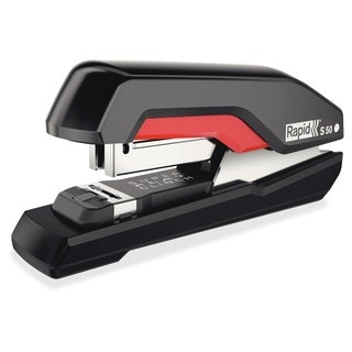 Rapid Supreme Halfstrip Stapler S50 - Black/Red