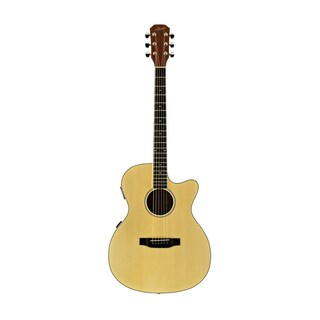 Austin Guitars AA25-OEC Folk Cutaway Acoustic-Electric Guitar