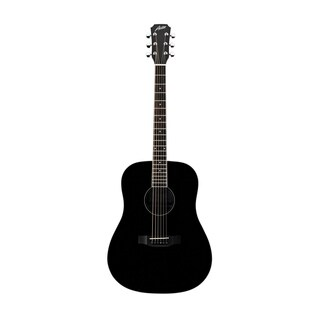 Austin Guitars AA25-DBK Dreadnought Acoustic Guitar - Black