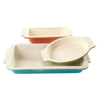 Gibson Bakeware 3-Piece Ceramic Set