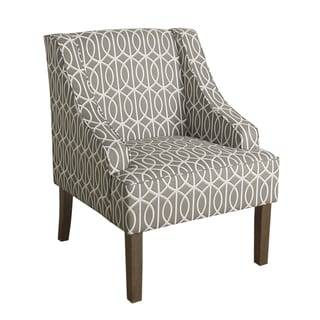 Porch & Den Cammy Swoop Arm Accent Chair